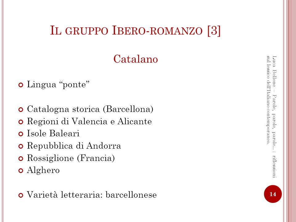 Il gruppo Ibero-romanzo [3]